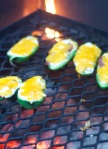 Poppers on the grill